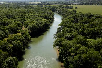 Bosque River Waco The Heart Of Texas - A long river