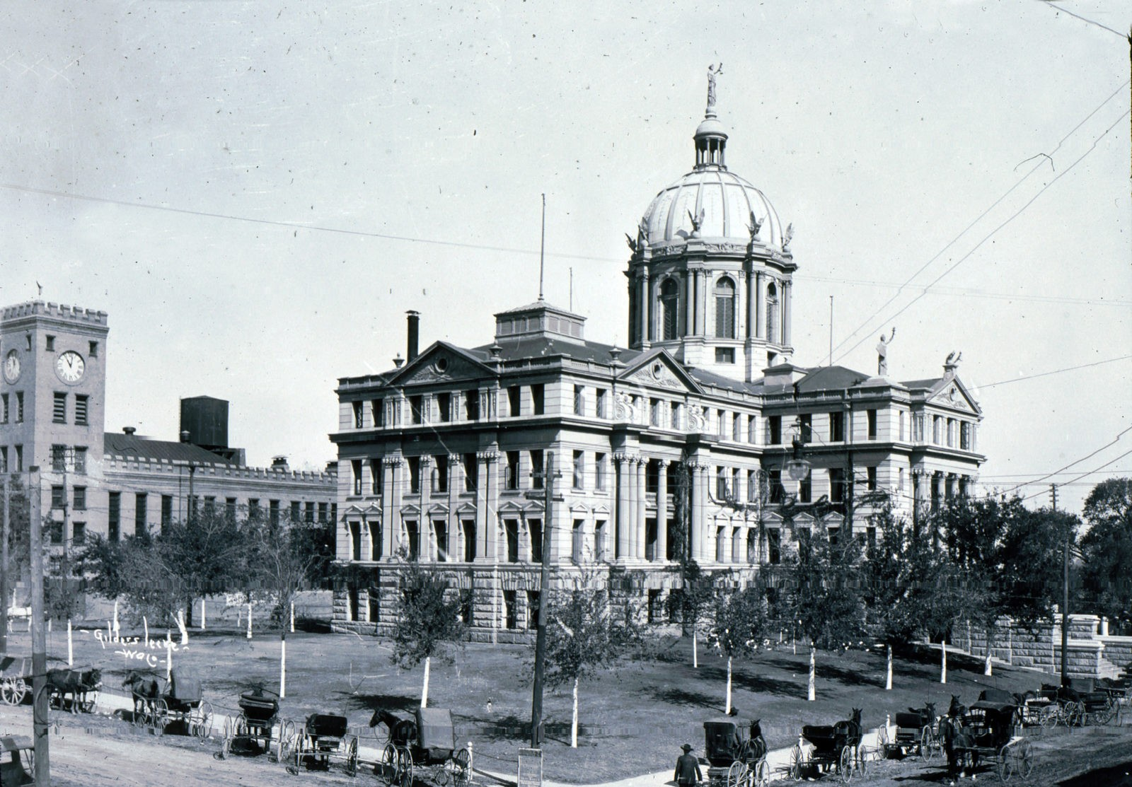 025 - Courthouse & Old Jail - 1912