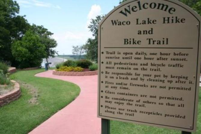 Lake Waco Dam