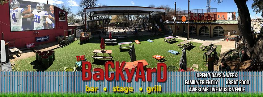 Backyard Bar And Grille live music at the backyard – waco & the heart of texas