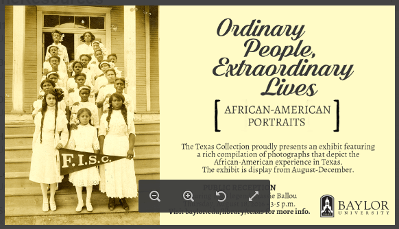 Ordinary People, Extraordinary Lives - Photo exhibit on notable African-Americans in Waco