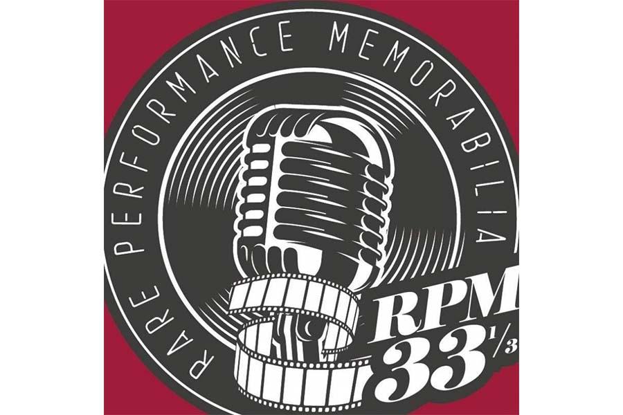 Rare Performance Memorabilia