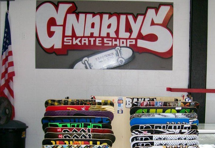 Gnarly's Skate Shop