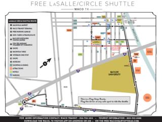 LaSalle/Circle Shuttle Map