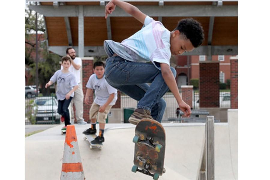 Sul Ross Skate Park