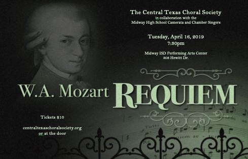 Central Texas Choral Society Spring Concert – Waco & The Heart of Texas