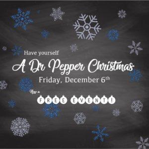 A Dr Pepper Christmas