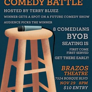 Stand Up Comedy Battle: Black Friday Special Edition!
