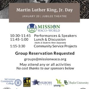 Mission Waco Martin Luther King, Jr. Program and Service