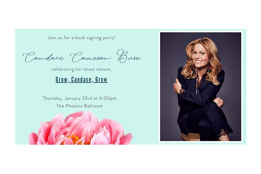 Candace Cameron Bure Book Signing