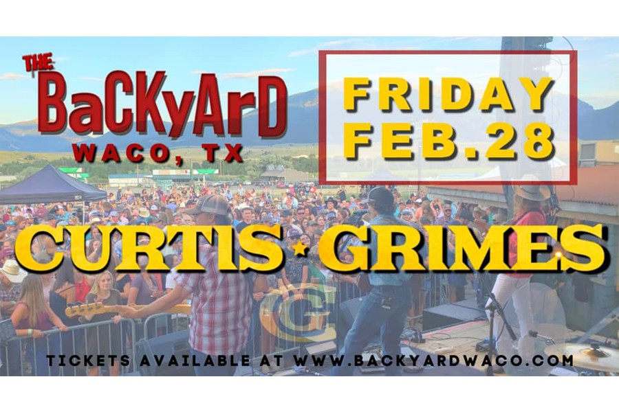 Curtis Grimes Live at the Backyard!
