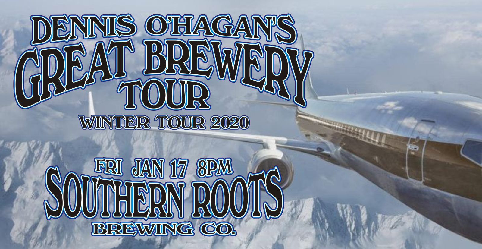 Dennis O'Hagan's Great Brewery Tour Plays Southern Roots Brewing