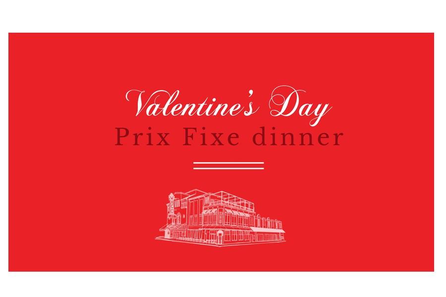 Valentine's Day Prix Fixe Dinner