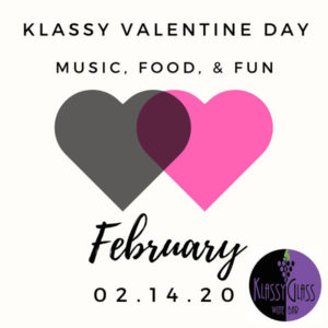 Valentine Dinner & Music at Klassy Glass