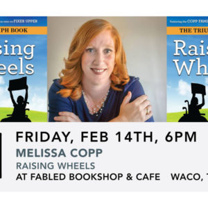 Melissa Copp: Raising Wheels Book Signing