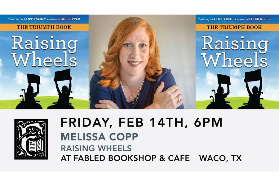 Melissa Copp: Raising Wheels Book Signing