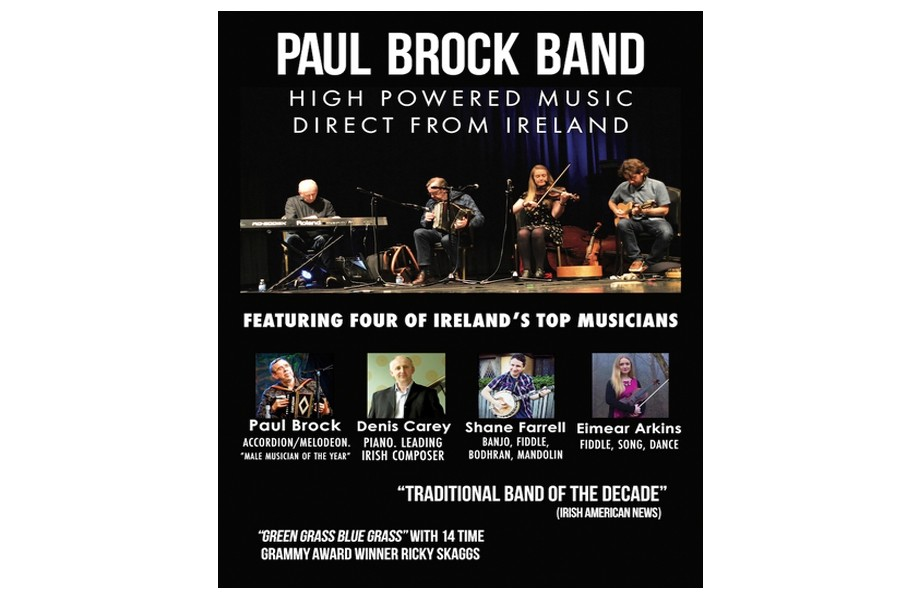 Paul Brock Band: Direct from Ireland