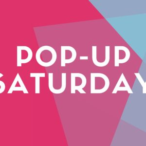 Pop-Up Saturday: Healthy New Year!