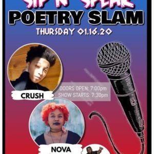 Sip N' Speak | Poetry Slam | Third Thursdays