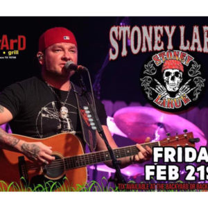 Stoney LaRue at the Backyard