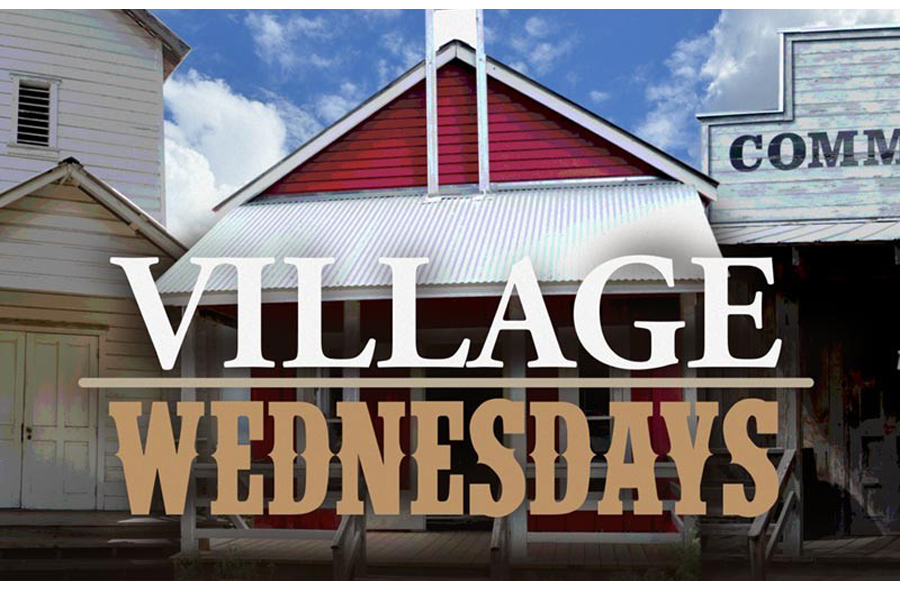 Village Wednesdays: Pastimes!