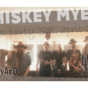 Whiskey Myers Street Party
