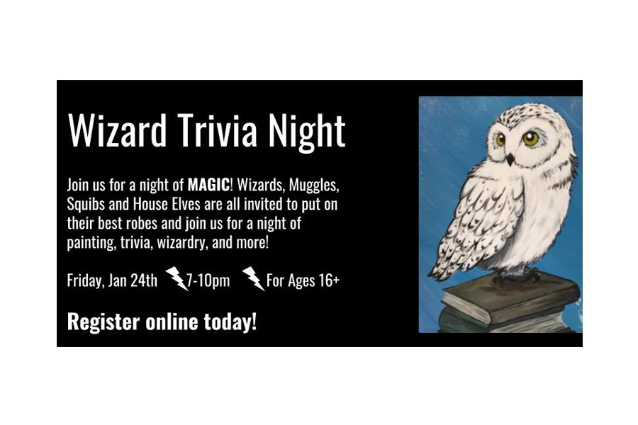 Wizard Trivia Encore at Painting with a Twist