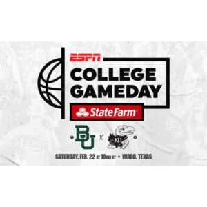 ESPN's College Gameday in Waco