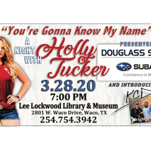 """""""You're Gonna Know My Name"""" - A Night with Holly Tucker"""