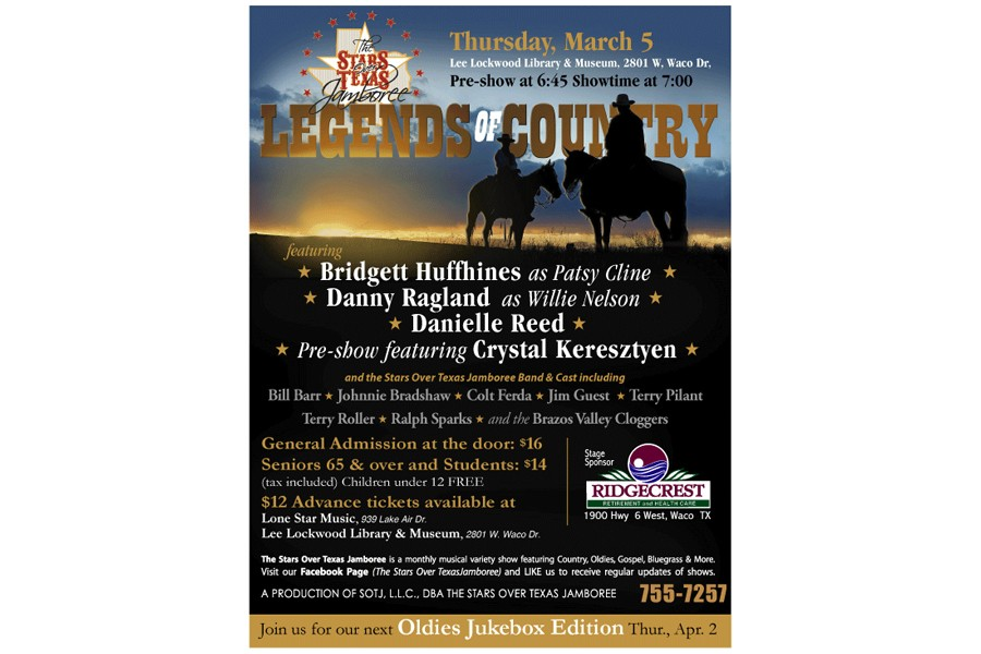 Stars Over Texas Jamboree: Legends of Country