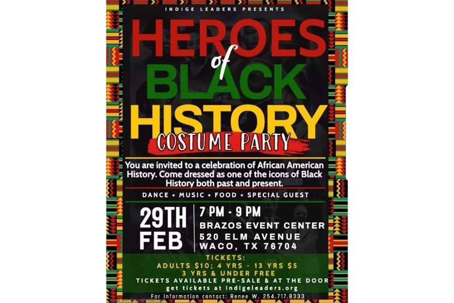 Black History Costume Party