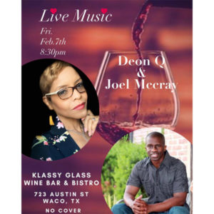 Live Music at Klassy Glass