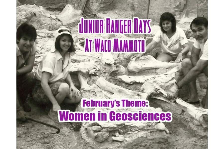 Women in Geosciences Jr. Ranger Day