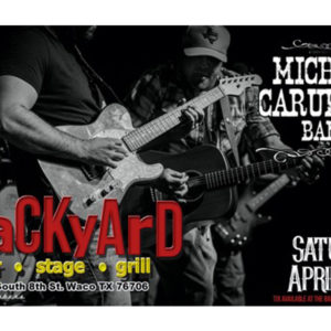 Michael Carubelli at the Backyard!