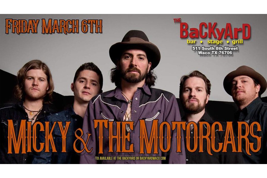 Micky & the Motorcars at the Backyard!
