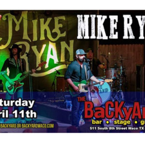 Mike Ryan at the Backyard