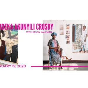 Artist Conversation with Njideka Akunyili Crosby & Jason Kaufman