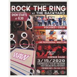 Rock The Ring at the Backyard!