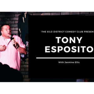 Tony Esposito with Jasmine Ellis - The Silo District Comedy Club