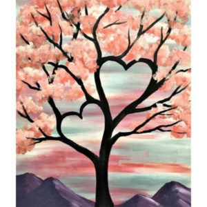 Valentine's Day Date Night, Paint Night