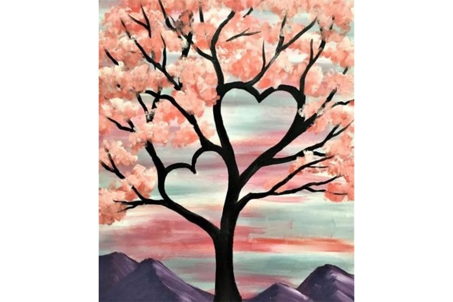 Valentine's Day Date Night, Paint Night