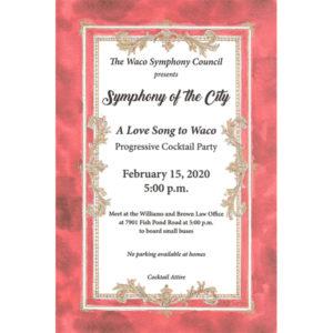 Symphony of the City - A Progressive Cocktail Party