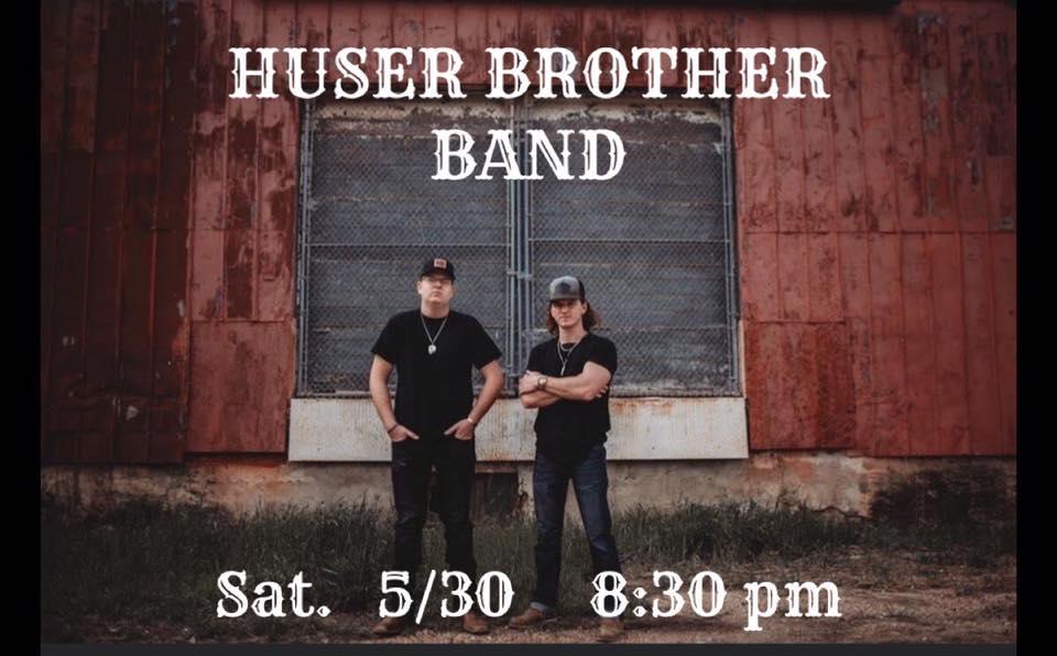 HUSER BROTHERS BAND w/ Joey Greer