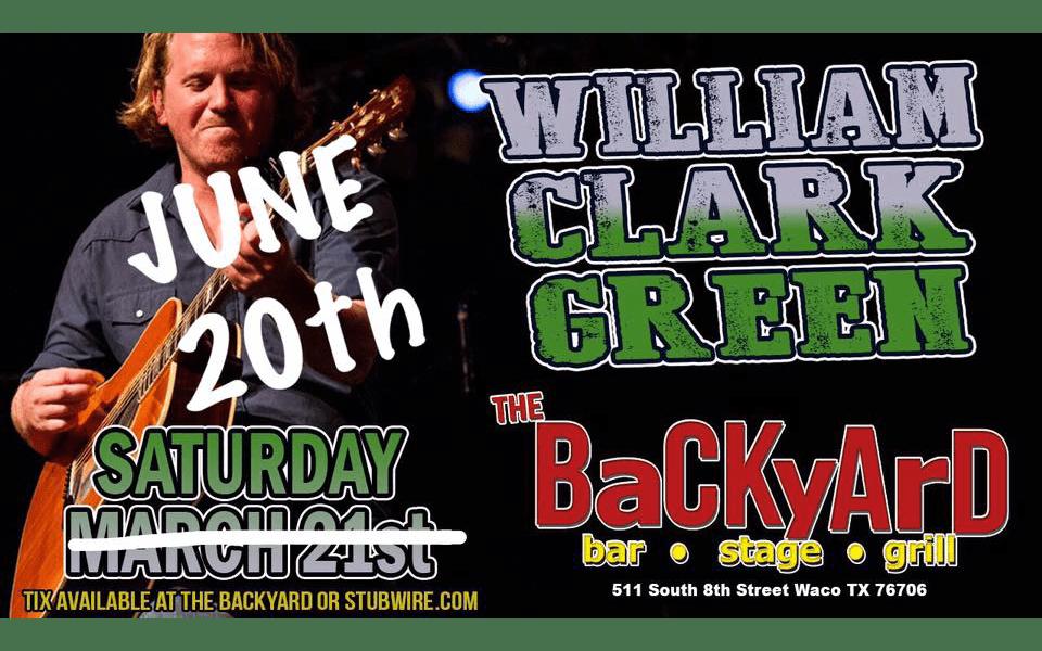 WILLIAM CLARK GREEN @ The BaCKyArD