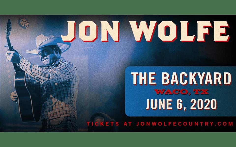 Jon Wolfe at The Backyard