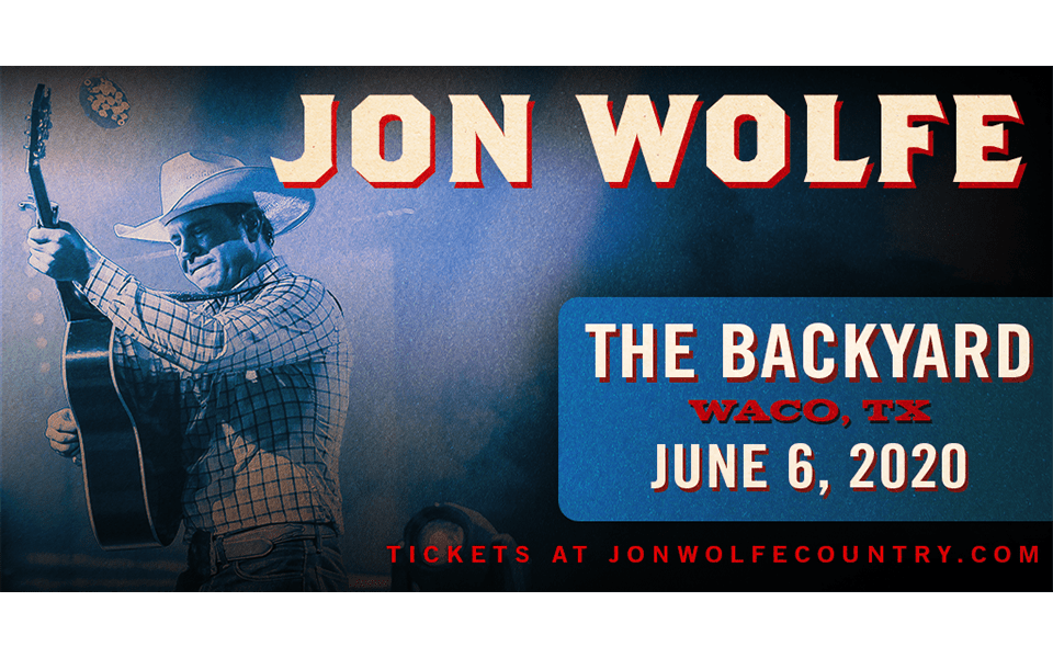 Jon Wolfe at The Backyard Waco, TX